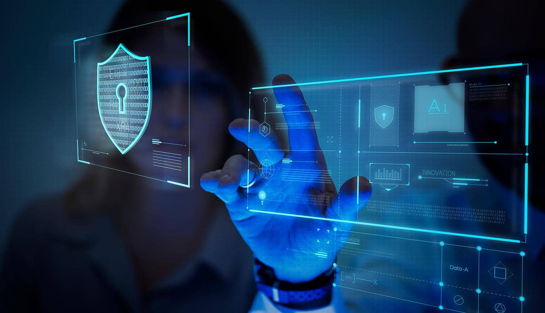 finger on screen data privacy
